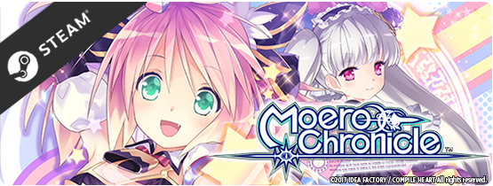 Moero Chronicle Coming to Steam
