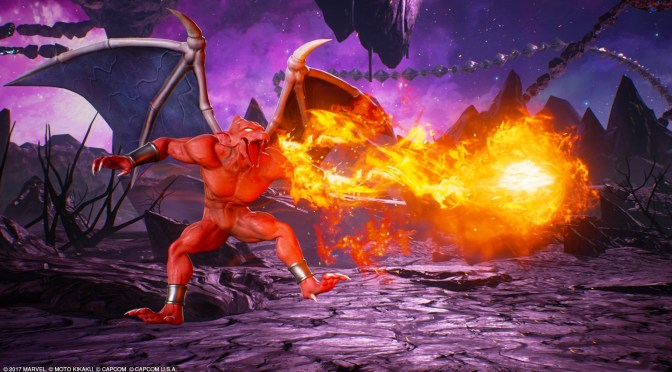 Firebrand, Ghost Rider, Dorammu and Jedah gameplay trailer for Marvel vs Capcom Infinite