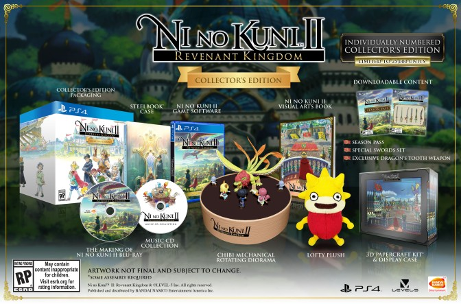 Ni No Kuni: Revenant Kingdom Special Editions and Season Pass announced