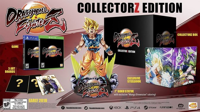 North American DBFZ Collector Edition, and Beta Sign-up Details