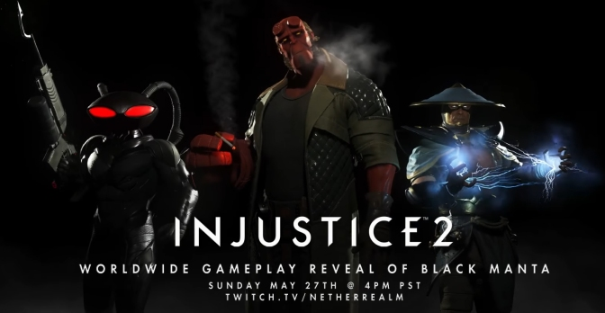 New characters annouced for Injustice 2 'Fighter Pack 2'