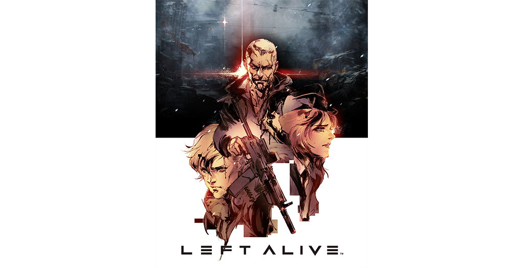 "Square-Enix has a new title ""Left Alive"", with the character designer METAL GEAR series"