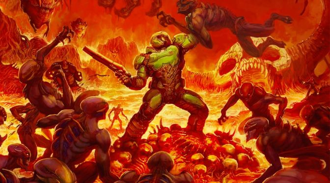 Doom will release on the Switch November 10