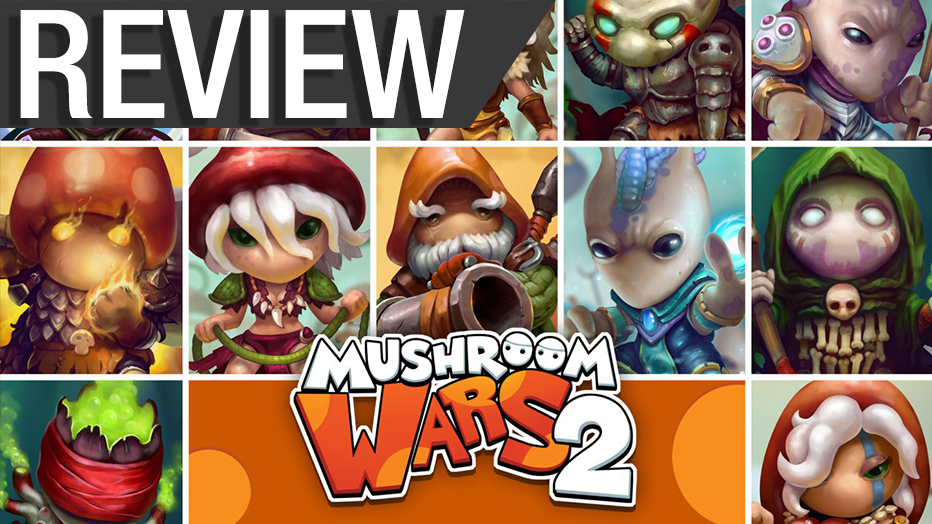NCG Review – Mushroom Wars 2 (PC)