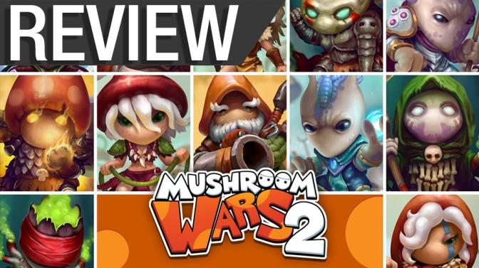 NCG Review – Mushroom Wars 2 (PC)