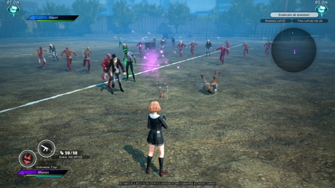 School Girl/Zombie Hunter launches November 17
