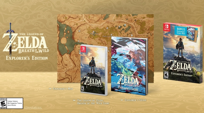 The Legend of Zelda: BOW – Explorers Edition & Zelda Themed 2DS System coming this Black Friday
