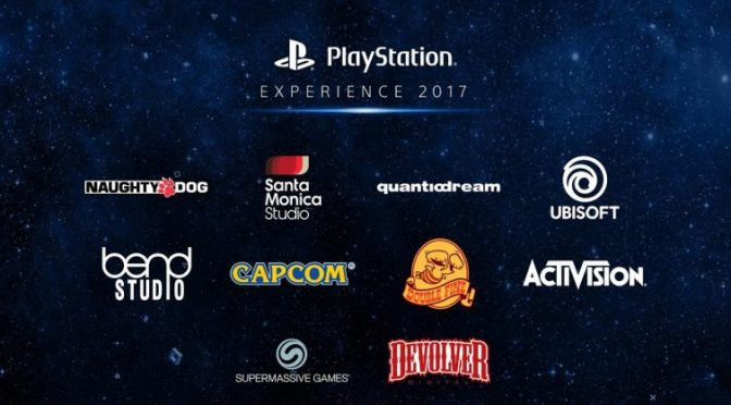 "Playstation Experience 2017 ""near final"" list of exhibitors and playable titles"