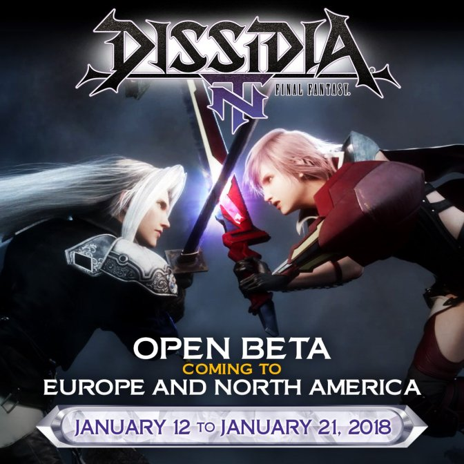 Dissidia Final Fantasy NT Open Beta is set for January 12 to 21 in North America