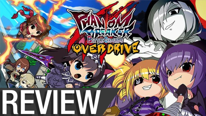 NCG Review – Phantom Breaker: Battle Grounds Overdrive (Switch)