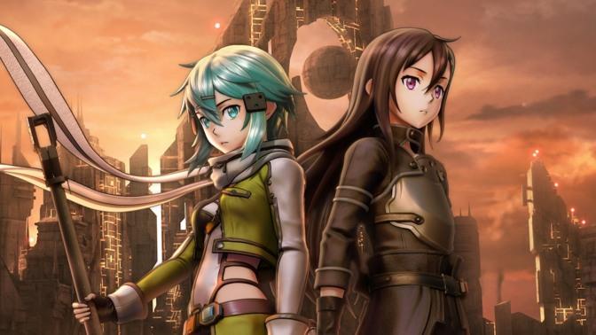 Pre-order bonuses for Sword Art Online: Fatal Bullet