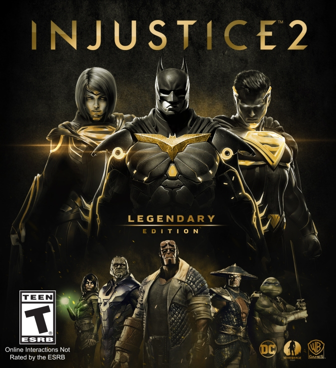 Injustice 2 – Legendary Edition announced