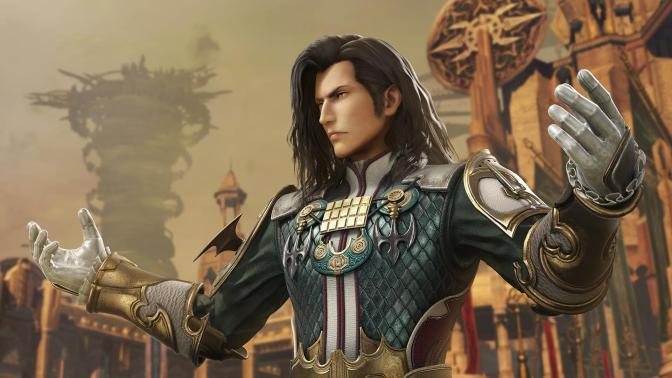 FFXII's Vayne is joining Dissidia Final Fantasy NT, along with a years worth of DLC