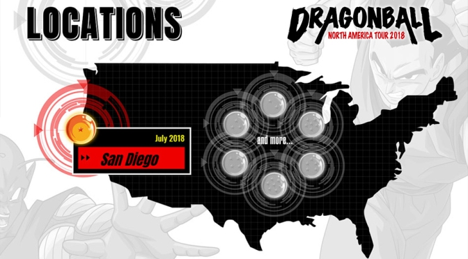 """Dragon Ball Tour"" revealed for 7 Cities in North America"