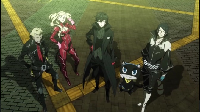 """Persona 5 the Animation"" begins airing April 7, and has a new trailer"