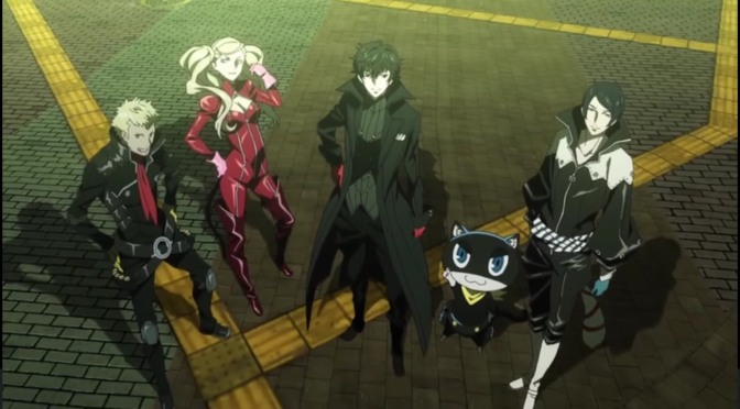 """""""Persona 5 the Animation"""" begins airing April 7, and has a new trailer"""