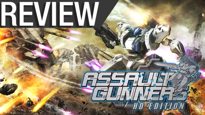 NCG Review – Assault Gunner HD Edition (PS4, PC)