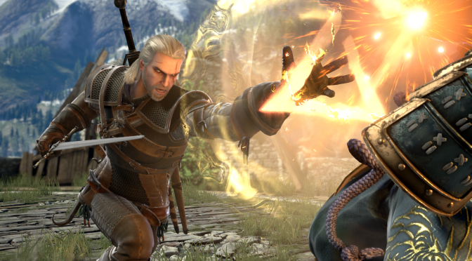 Geralt of Rivia announced as a guest character for SoulCalibur VI