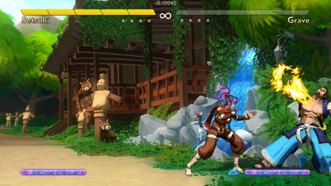 Fantasy Strike is coming to the Switch