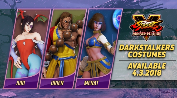 Street Fighter V: Arcade Edition is getting Darkstalker Costumes