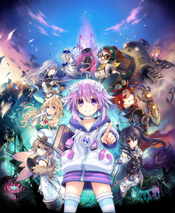 Super Neptunia RPG coming this fall!