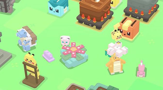 Pokemon Quest is available now on Nintendo Switch (Free)