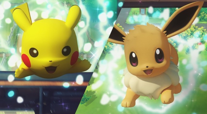 Pokemon Let's Go Pikachu! and Let's Go Eevee! Announced
