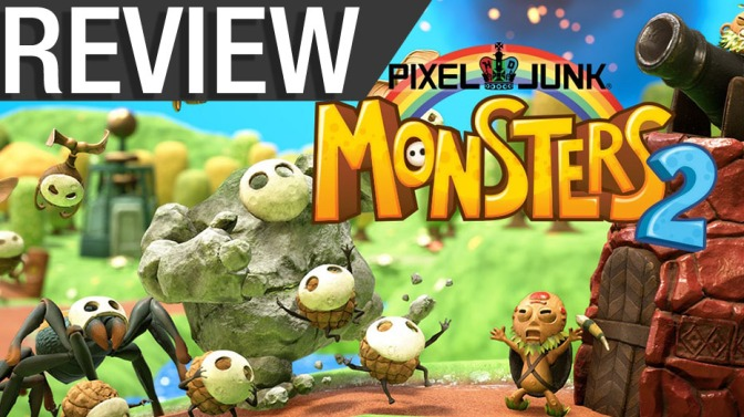 NCG Review: Pixel Junk Monsters 2 (PS4, PC, Switch)