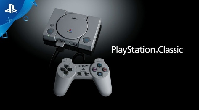 Playstation Classic announced and Launching December 3, 2018