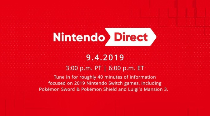 "A List Of Everything from the ""Nintendo Direct 9-4-19"""