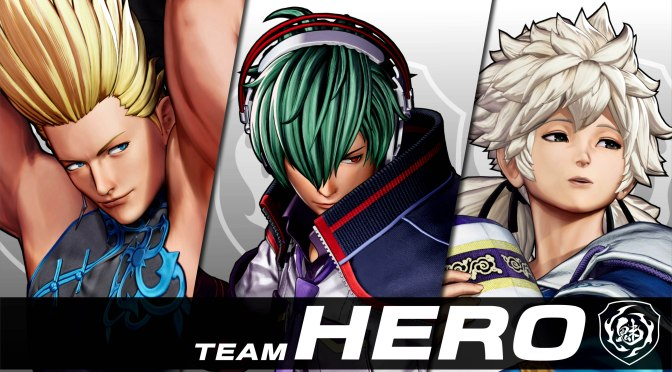 SNK has announced Team Hero for KOF XV