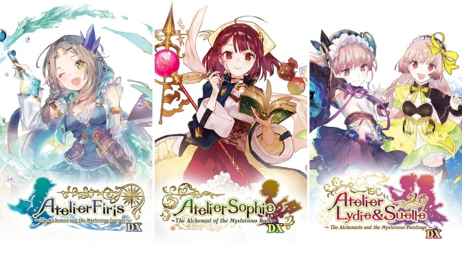 Atelier Mysterious Trilogy Deluxe Pack is Launching April 22, 2021