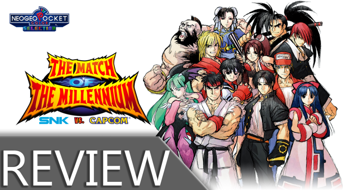 NCG REVIEW – SNK VS CAPCOM: THE MATCH OF THE MILLENNIUM (SWITCH)