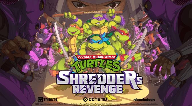 TMNT: Shredder's Revenged announced
